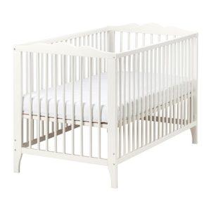 Ikea Portable Wood Crib